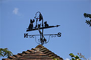 Fred Basset weathervane