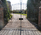 Black Forge gates & railings