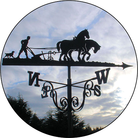 Commissions from photographs weathervanes